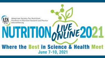 Join Us at Nutrition 2021!